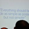 Make UI's simple!