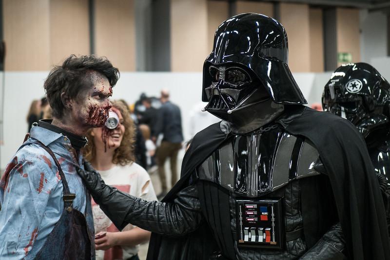 Zombies vs The Dark Side