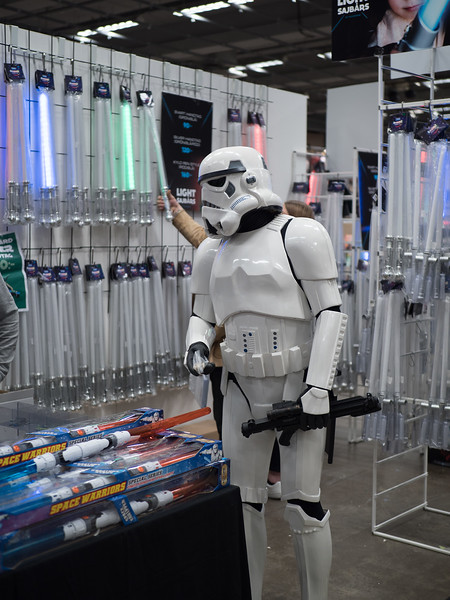 Shopping for new weapons