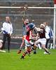 EEXXjob SPORT 30/05/2017 Sciath na Scol Finals played at Pairc Ui Rinn.  Cloghroe v GS Uí Riordáin.  Ellen Crowley Cloghroe increases her teams goal score.  Picture: Andy Jay