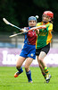 EEXXjob SPORT 30/05/2017 Sciath na Scol Finals played at Pairc Ui Rinn. C5 Berrings v Castlelyons .  Ava Quirke Castlelyons goes head to head with Berrings Eva Costello.  Picture: Andy Jay