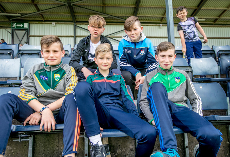 EEXXjob SPORT 31/05/2017 SPORT  Allianz Sciath na Scol Finals played at Pairc Ui Rinn. A mixed  fan base pictured at the Allianz Sciath na Scol Finals on Wednesday.    Picture: Andy Jay