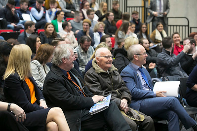 09/03/2019. Pictured at the Waterford Institute of Technology Science Careers Day. Picture: Patrick Browne