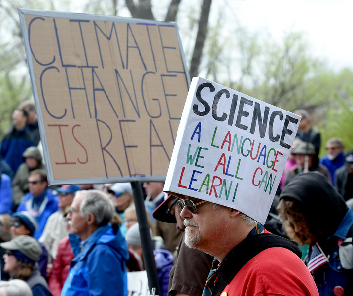 Science March in Boulder