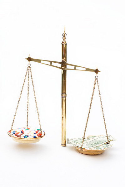 Cost effectiveness is the balance of the cost of the drug and the health benefit it provides.