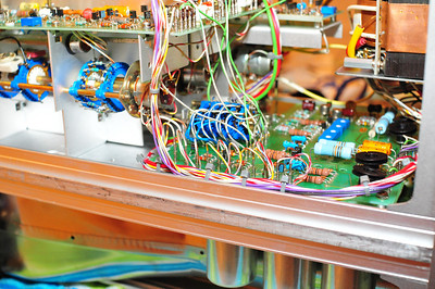 Detail of main power supply board.