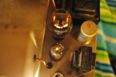 Primary DC rectifier and other tubes.