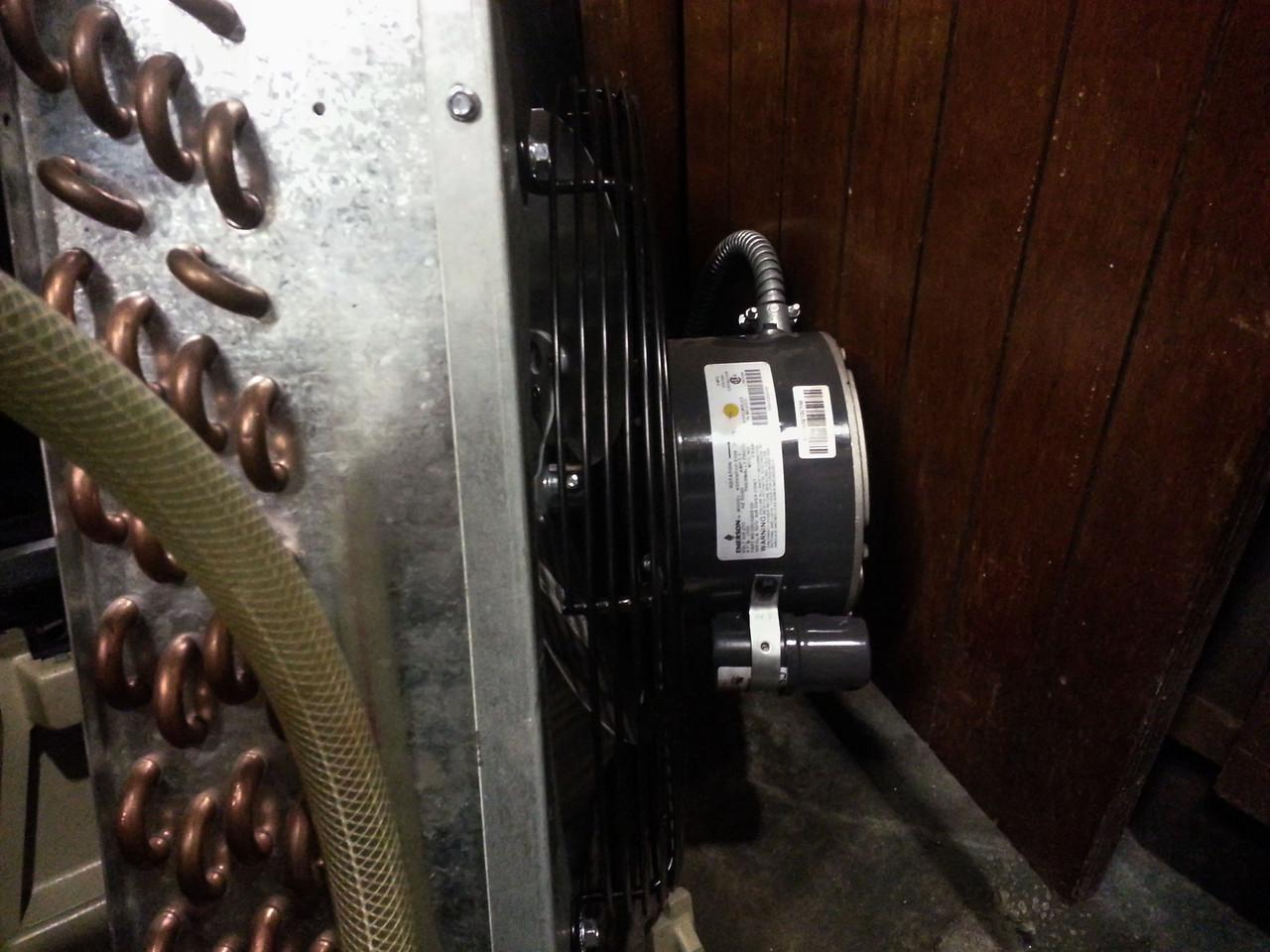 1/3hp fan motor, psc, 208-240v.