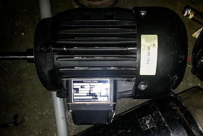 .55kW (3/4hp) 3-ph 208/480 TEFC