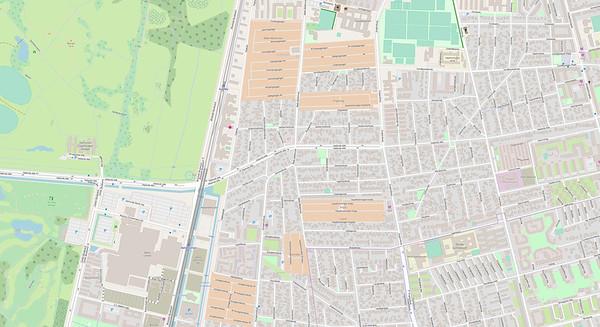 Kopenhagen Stadtplan No. 9