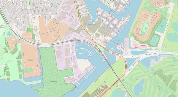 Kopenhagen Stadtplan No. 6