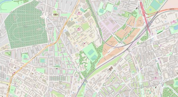Kopenhagen Stadtplan No. 1