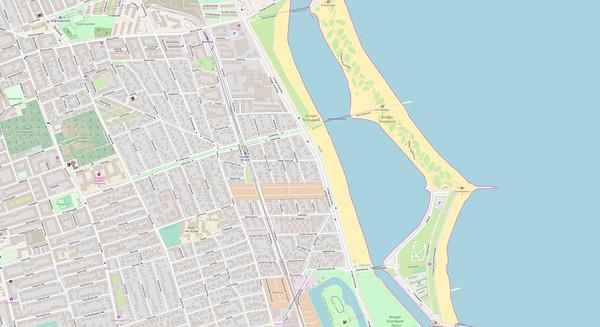 Kopenhagen Stadtplan No. 19