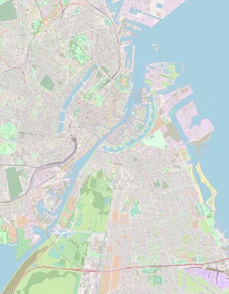 Kopenhagen Stadtplan Maps