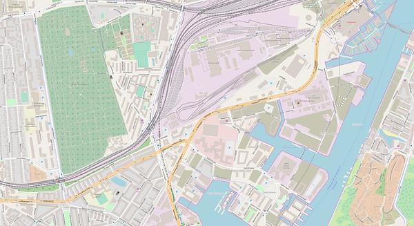 Kopenhagen Stadtplan No. 5