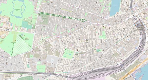 Kopenhagen Stadtplan No. 4