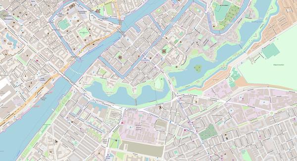 Kopenhagen Stadtplan No. 11