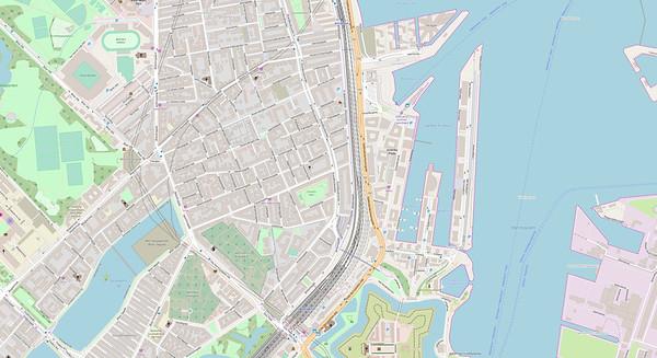 Kopenhagen Stadtplan No. 13