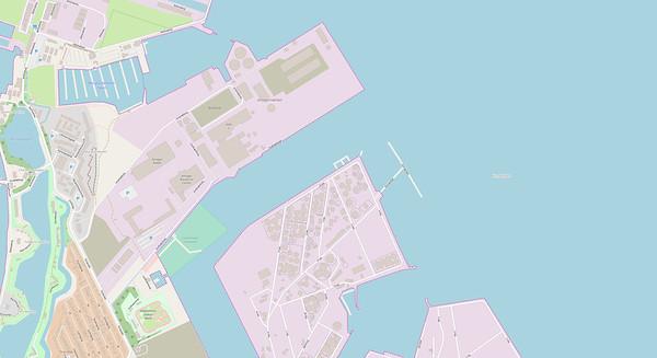 Kopenhagen Stadtplan No. 17