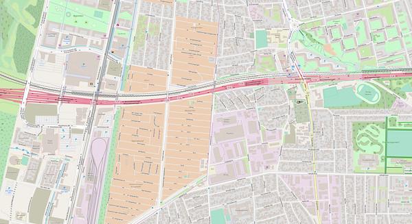 Kopenhagen Stadtplan No. 8