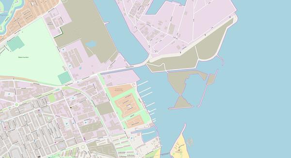 Kopenhagen Stadtplan No. 18