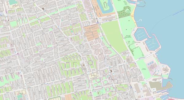 Kopenhagen Stadtplan No. 20
