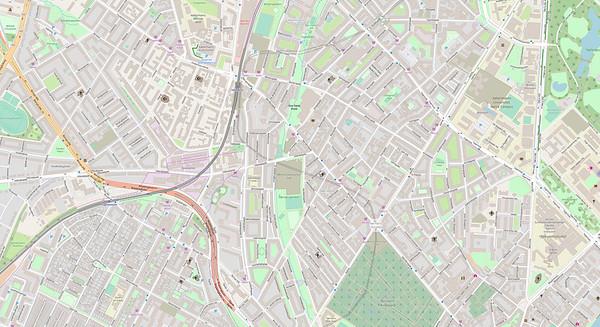Kopenhagen Stadtplan No. 2