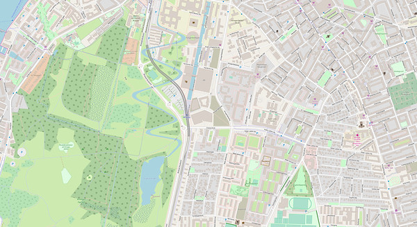 Kopenhagen Stadtplan No. 10