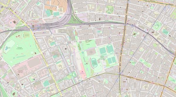 Berlin Stadtplan Map No. 20