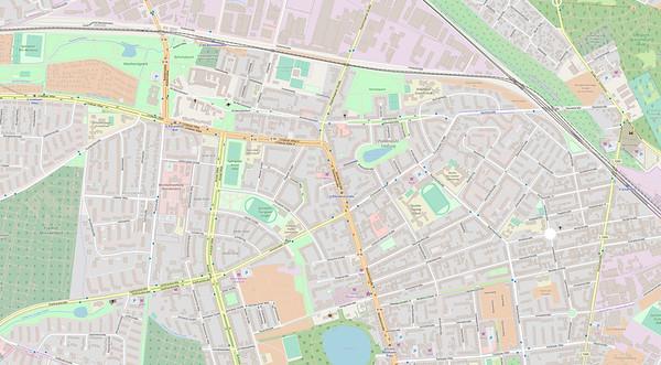 Berlin Stadtplan Map No. 17