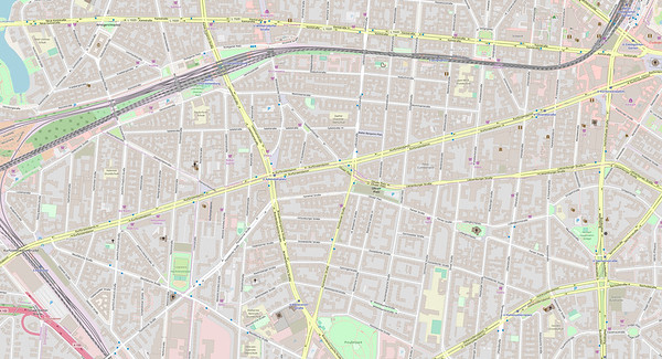 Berlin Stadtplan Map No. 5