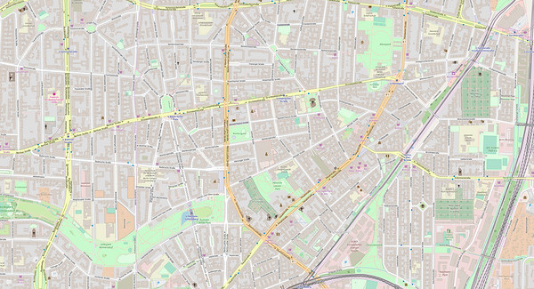 Berlin Stadtplan Map No. 9