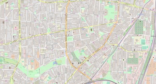 Berlin Stadtplan Map No. 9