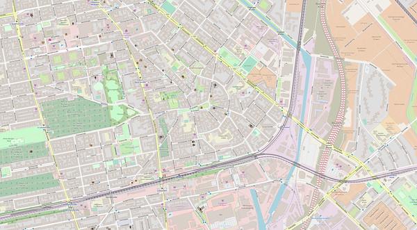 Berlin Stadtplan Map No. 30