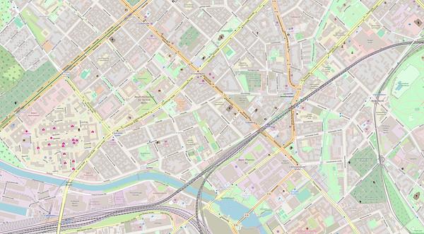 Berlin Stadtplan Map No. 15
