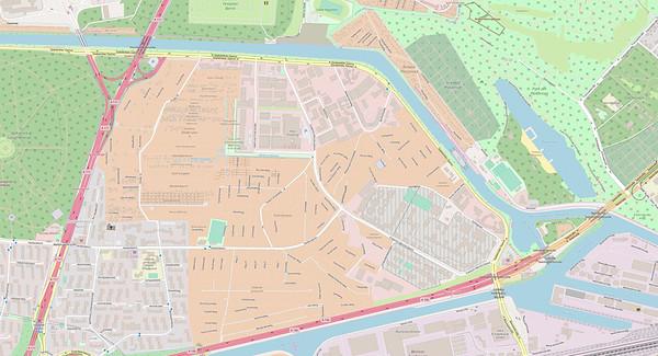 Berlin Stadtplan Map No. 0