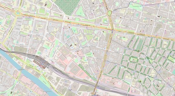 Berlin Stadtplan Map No. 27
