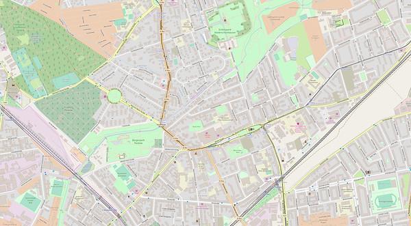 Berlin Stadtplan Map No. 18