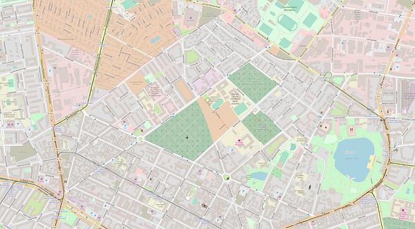 Berlin Stadtplan Map No. 24