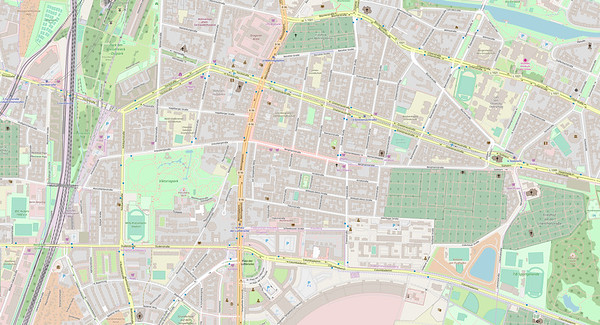 Berlin Stadtplan Map No. 14