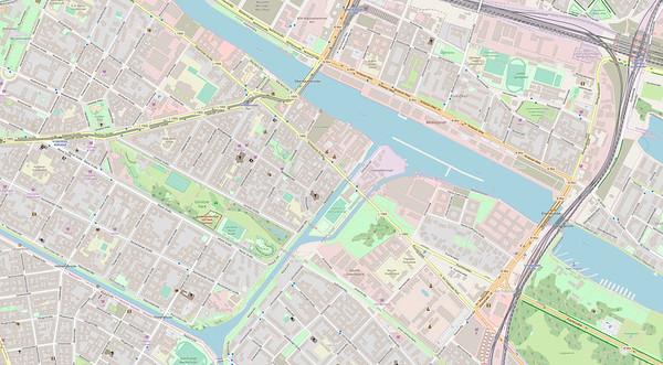 Berlin Stadtplan Map No. 28