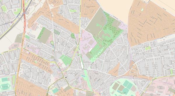 Berlin Stadtplan Map No. 23
