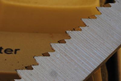 Multitool saw blade.