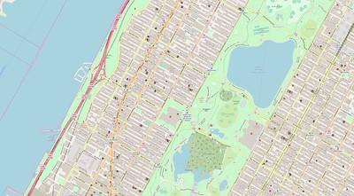 New York Stadtplan Maps No. 18