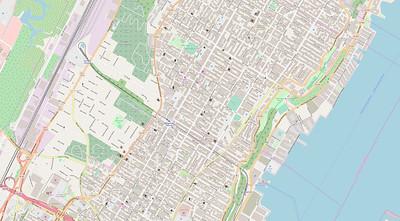 New York Stadtplan Maps No. 1