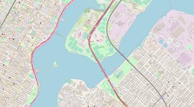 New York Stadtplan Maps No. 19
