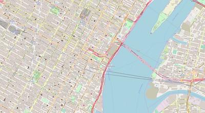 New York Stadtplan Maps No. 16