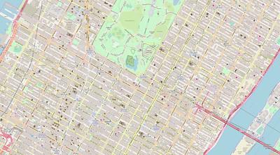 New York Stadtplan Maps No. 17