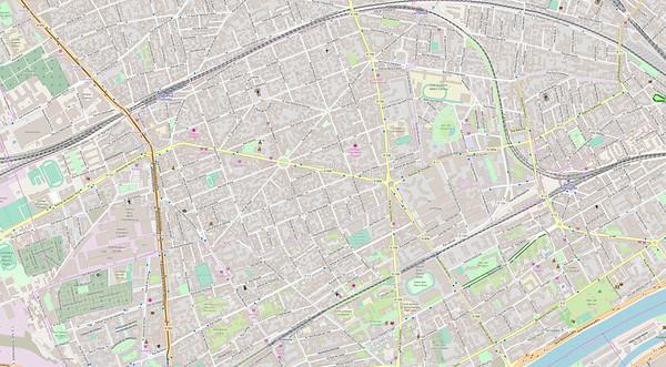 Paris Stadtplan Maps No. 0