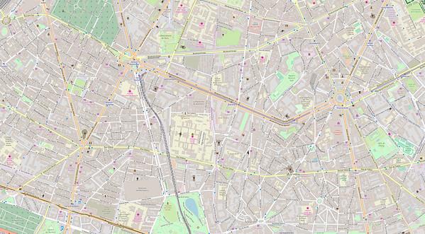 Paris Stadtplan Maps No. 17